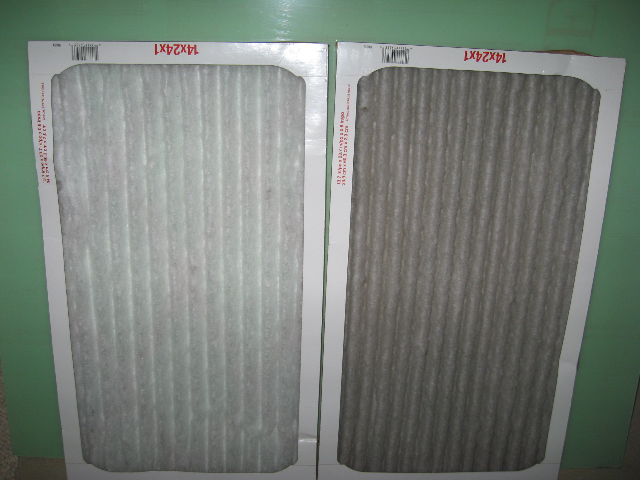 Clean and Clogged Air Filters.JPG